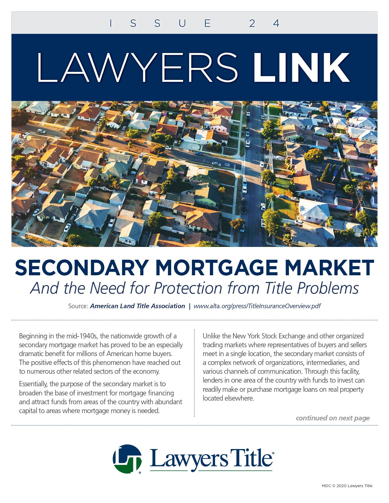 Lawyers Link Issue 24, page 1